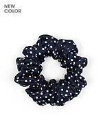Printed Nylon Tricot Scrunchie