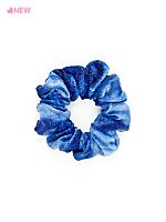 Shiny Velvet Scrunchie