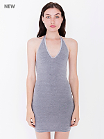 Cotton Spandex Halter Dress