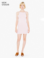 Cotton Spandex Mini Length Dress