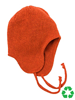 Kids' Recycled Cotton-Acrylic Peruvian Cap