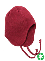 Kids' Recycled Cotton-Acrylic Peruvian Cap