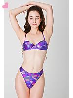 Shiny Underwire Bikini Top