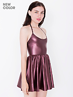 Shiny Figure Skater Dress