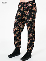 Floral Print Cotton Twill Billionaire Pant