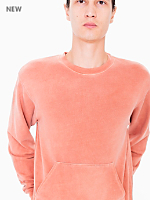 French Terry Pullover with Kangaroo Pocket