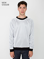 Poly Mesh Athletic Lined Raglan