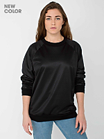 Unisex Poly Mesh Athletic Lined Raglan