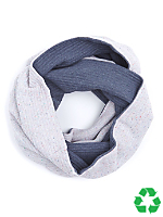 Two Tone Recycled Circle Scarf