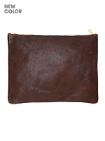 Large Leather Carry-All Pouch