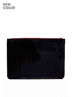 Medium Patent Leather Carry-All Pouch