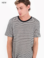 Light Ottoman Stripe Tee