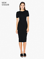 Ponte Pencil Mid-Length Dress