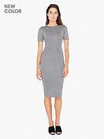 Ponte Pencil Mid-Length Dress