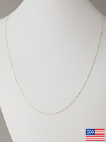 Sterling Silver Necklace - Box Chain 20