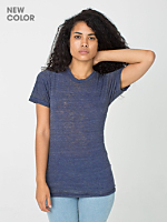 Unisex See Thru Tri-Blend Track Shirt