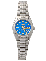 Orient Silver & Blue Ladies Analog Watch