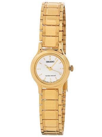 Orient Gold & White Ladies Analog Watch