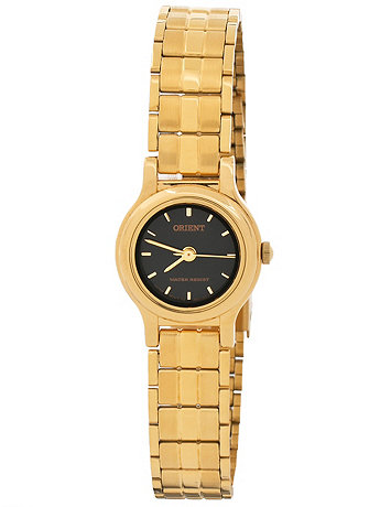 Orient Gold & Black Ladies Analog Watch