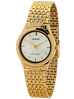 Orient Gold & White Analog Watch