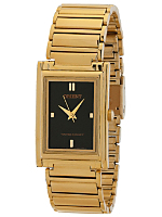 Orient Gold & Black Analog Watch