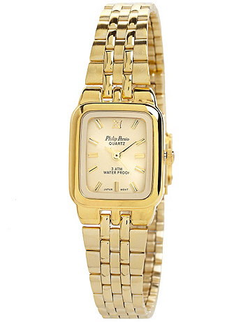 Philip Persio Gold Ladies Analog Watch