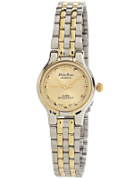 Philip Persio Silver & Gold Ladies Analog Watch