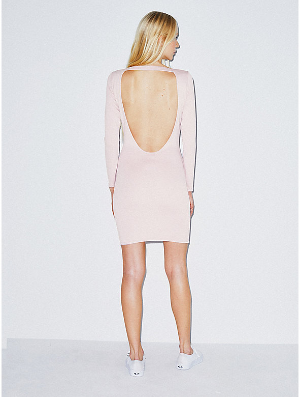 Ponte Backless Dress