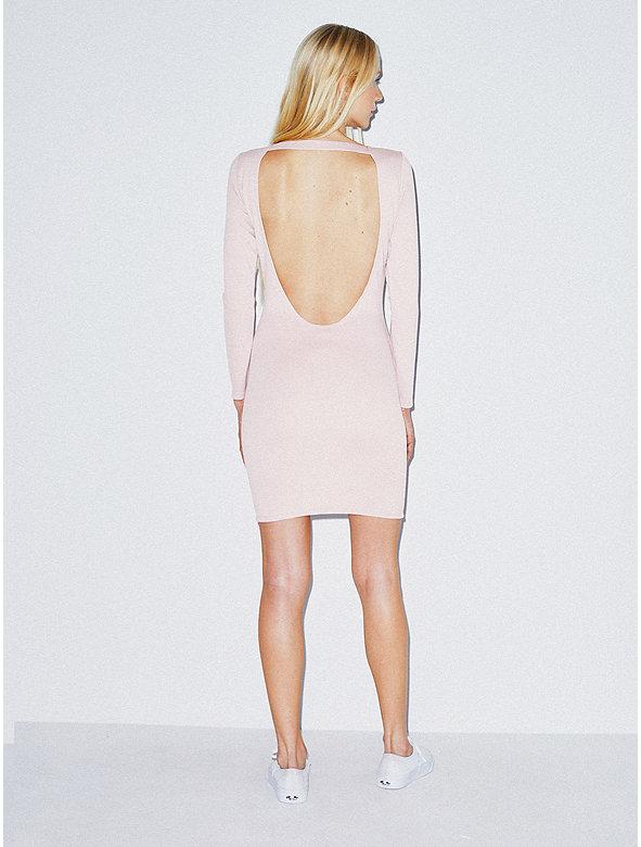 Ponte Backless Dress