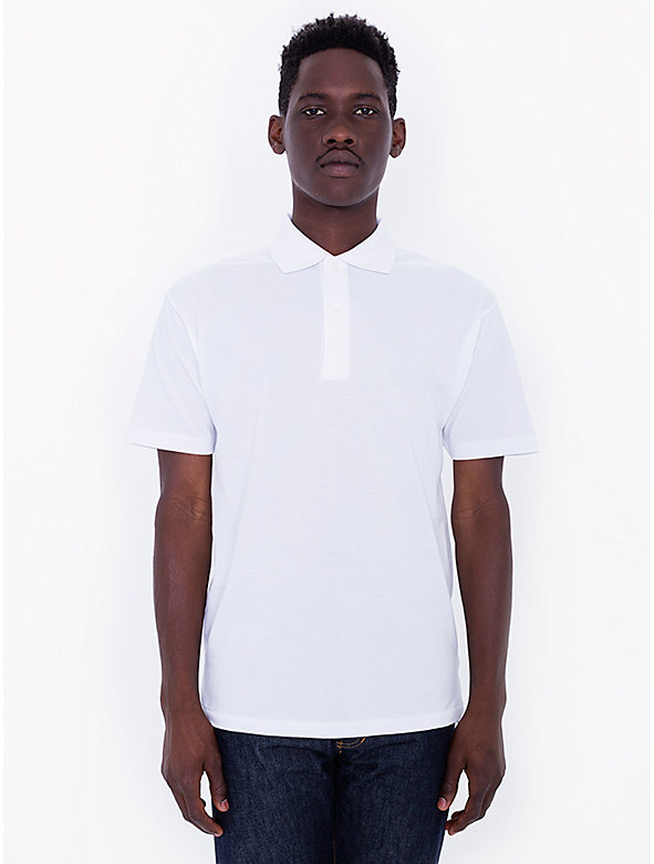 Cotton Piqué Tennis Shirt