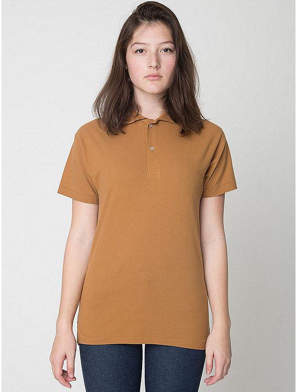 Unisex Cotton Piqué Tennis Shirt