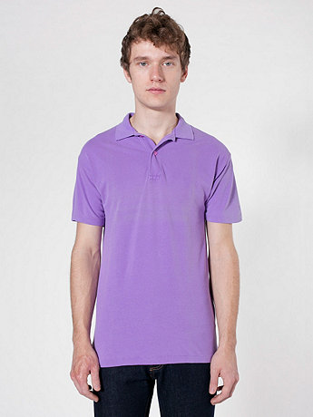 Highlighter Piqué Tennis Shirt