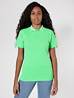 Unisex Highlighter Piqué Tennis Shirt