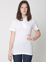 Unisex Cotton Piqué Tennis Shirt