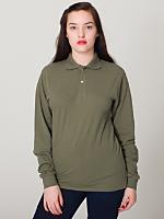 Unisex Piqué Long Sleeve Shirt