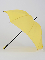 Yellow Manual Pumpkin Umbrella