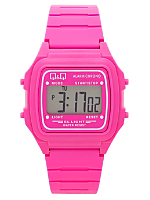 Q&Q Men's Digital Wristwatch - Pink