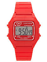 Q&Q Men's Digital Wristwatch - Red