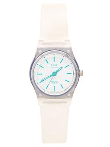 Q&Q Women's Analog Wristwatch - Clear