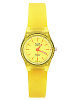 Q&Q Women's Analog Wristwatch - Yellow