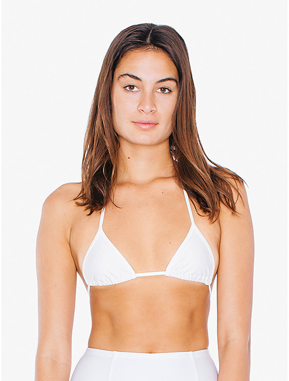 Triangle String Bikini Top