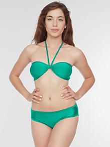 Nylon Tricot Swim Bikini Bottom