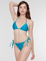 Nylon Tricot Side-Tie Bikini Bottom