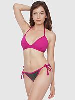 Nylon Tricot Side-Tie Bikini Bottom