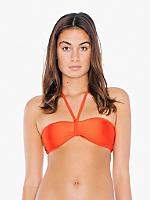 Nylon Tricot Bandeau Bikini Top