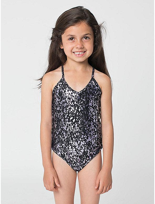 Printed Kids' One-Piece Bathing Suit