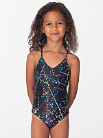 Printed Kids One-Piece Bathing Suit