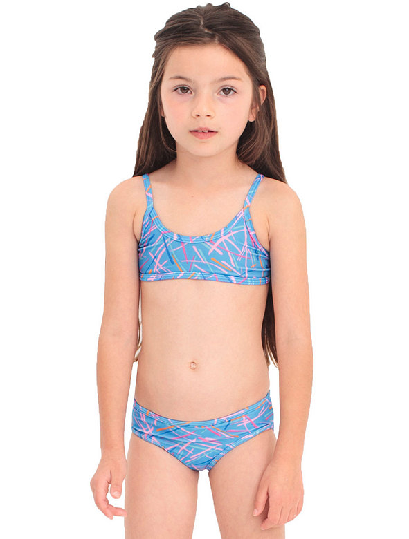 Kids' Printed Bikini Bottom