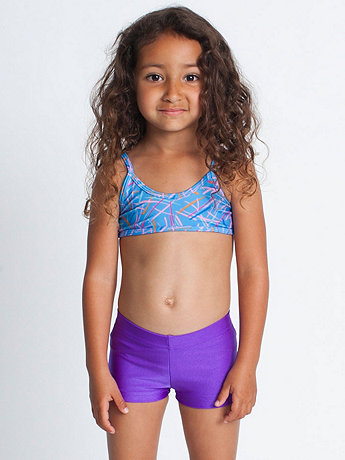 Nylon Tricot Kids' Swim Brief