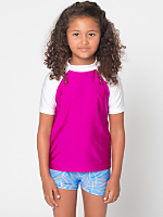 Kids Nylon Tricot Rash Guard